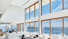 Casa Bahia, a waterfront home in Miami's secluded Coconut Grove neighborhood