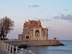 Constanta. Romania I've actually been inside that building and have had pics taken of me there as the sea as my backdrop