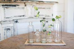 Assorted Jars w/ Tray