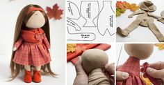 Разрешите представить вашему вниманию мой первый мастер-класс, который посвящен созданию текстильной, интерьерной куколки. Я старалась сделать все очень подробно, чтобы каждый желающий смог создать для себя такую подружку. Я обожаю осень! Эти краски, этот запах осеннего воздуха, такой особенный, такой сказочный. Поэтому работа над осенним мастер-классом принесла мне огромное удовольствие.