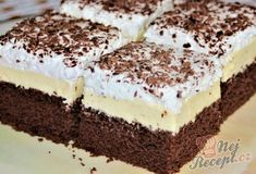 Czech Recipes, Ethnic Recipes, Yummy Mummy, Aesthetic Food, Chocolate Cake, Tiramisu, Cheesecake, Food And Drink, Cooking Recipes