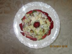 "#WaldorfSaladRefresh ""Strawberry Waldorf Salad"""