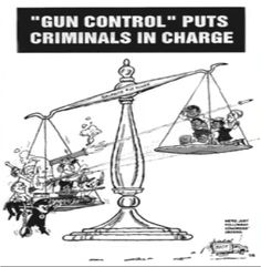 It's about people control and unfortunately not about controlling the criminals
