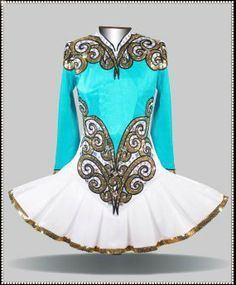 Free irish costume pattern patterns irish dance for Elevation dress designs