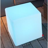 Found it at Wayfair.co.uk - Cube Outdoor Colour Changing Table Outdoor Garden Rooms, Outdoor Decor, Plastic Tables, Extruded Aluminum, Garden Table, Wood Species, Save Energy, Garden Furniture, Color Change