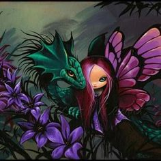 Art: Misty Magical Pair by Artist Nico Niemi Fairy Pictures, Dragon Pictures, Fantasy Paintings, Fantasy Art, Dragons, Fantasy Dragon, Artist Portfolio, Mermaid Art, Fairy Art