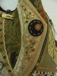 """Фото Джинсовая сумка""""Перышки""""-2. Альбом Моя ручная работа.СУМКИ - 50 фото. Фотографии Алла Ларкин."""