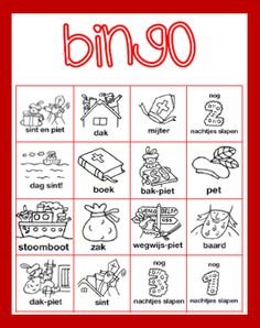 SINTERKLAAS+-+Bingo+gr3.PNG 268×339 pixels