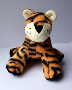 Terrance Tiger Plush  13 by LittleLuckies2 on Etsy, $30.00