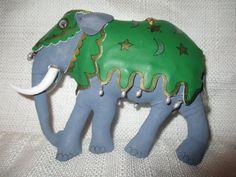 GLADYS BOALT Circus Elephant Ornament dated 1994 | eBay
