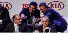 Delação da Odebrecht só foi possível porque Sergio Moro não pôde interferir para proteger o PSDB  Sergio Moro, Geraldo Alckmin, Aecio Neves , Jose Serra e  Temer