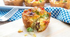 This Tasty Tater Breakfast Cup Recipe is a quick solution for a protein-packed, on-the-go breakfast! #OWSentry
