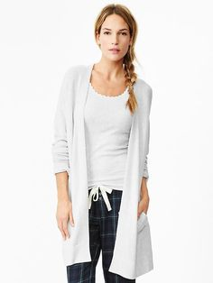 Softest open-front cardigan Product Image