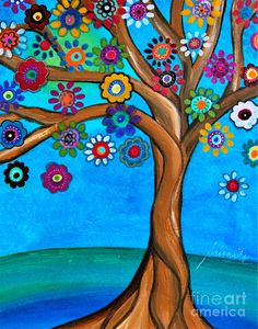 Metaverse Banyan Tree Of Life 1 by Prisarts Canvas Art Tree Of Life Artwork, Tree Of Life Painting, Tree Art, Tree Paintings, Painting On Windows, Rock Painting, Artwork Paintings, Karla Gerard, Barn Quilt Patterns