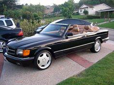 1989 Mercedes SEC convertible Mercedes 500, Mercedes Benz Maybach, Bmw Classic Cars, Classic Mercedes, Convertible, Diesel Cars, Bmw 5 Series, Rolls Royce, Automobile