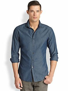 Ralph Lauren Black Label Chambray Sportshirt