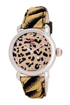 Women's CXS Diamond Cheetah Watch