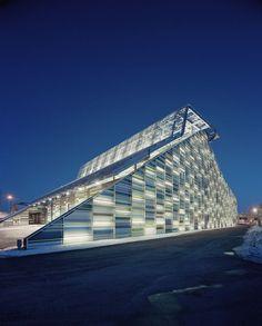 Maritime Centre Vellamo in Kotka, Finland by Architects Lahdelma & Mahlamäki