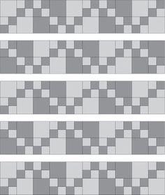 Double Four Patch Quilt Layout