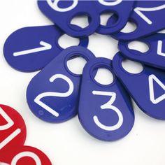 NASCO[ナスコ]FLEX NUMBER TAG BLUE(1~15):CDC webstore