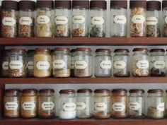 ~ Almost anytime we cook we reach for our spices to help our food taste great. Here are practical tips for organizing spices in our kitchen so we can always find the one we need quickly and easily.