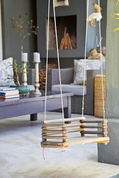 Used Hobbies For Sale Code: 4348041374 Swing Seat, Hammock Swing, Porch Swing, Plans Rocking Chair, Driftwood Projects, Diy Projects, Indoor Swing, Hanging Beds, Diy Playground