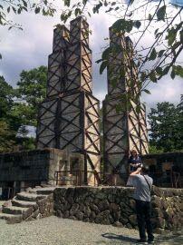 世界遺産に登録された韮山反射炉(静岡県伊豆の国市)