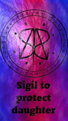 Sigil to protect daughter Requested by @emicast90 Wiccan Symbols, Magic Symbols, Symbols And Meanings, Spiritual Symbols, Viking Symbols, Egyptian Symbols, Viking Runes, Ancient Symbols, Magick Book