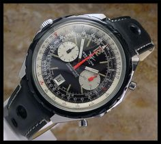 AUTHENTIC VINTAGE MENS SWISS BREITLING NAVITIMER CHRONOGRAPH AUTOMATIC 1806
