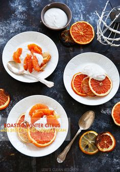 Roasted Citrus with