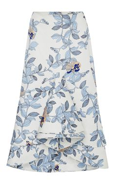 Jasmine Skirt - Johanna Ortiz Resort 2016 - Preorder now on Moda Operandi