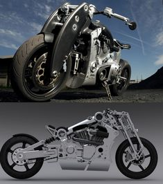 Steampunk Meets The Terminator In 2 New Confederate Motorcycles