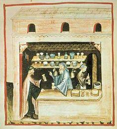 14. Jahrhundert, Hausbuch d. Cerruti / Theriak/ende 14.Jh