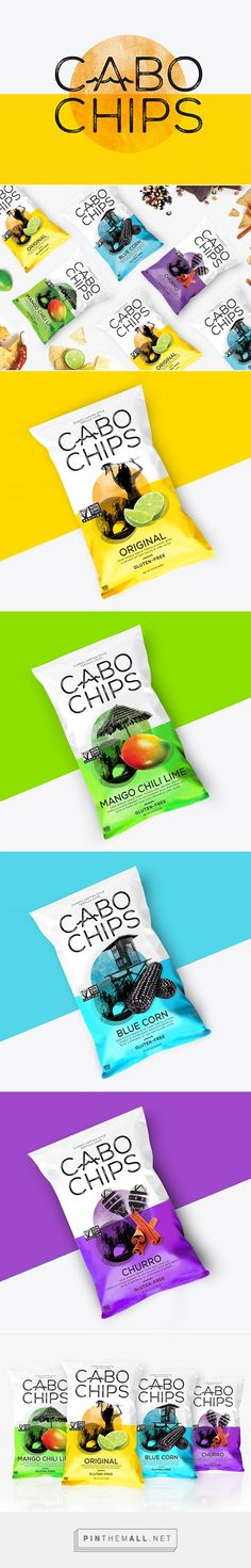 Cabo Chips via Lovely Package by Rook curated by Packaging Diva PD. Chip Packaging, Packaging Snack, Organic Packaging, Food Packaging Design, Packaging Design Inspiration, Brand Packaging, Branding Design, Branding Agency, Product Packaging