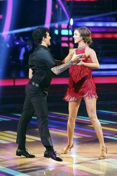 Sadie & Mark - Week 8 - dancing-with-the-stars Photo