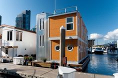 Live in a house boat, no problem. This one is in Vancouver, BC. Bet the water is chilly there.