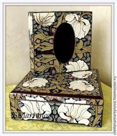 """Купить Шкатулка """"Тюльпаны Арт-нуво"""""""" - эксклюзивный подарок, лаковая роспись, цветы, для украшений"""