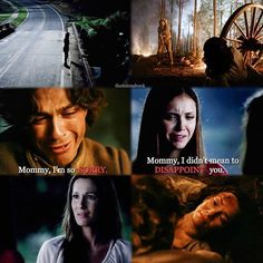 I really like how this turned out. - Guess who is back in doing parallels  yayyy don't miss them. - #delena #delenamonth #tvd #thevampirediaries