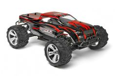 Remote Control (RC) - Himoto Raider Monster Truck 1:8 Brushless Steel. Go stealth with this awesome truck from Himoto. Available to buy now for £329.99.