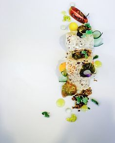 Greek salad through innovation #tradition #through #innovation #noblegourmetrestaurant #makriamirodia #chefstalk #gastroart #theartofplating #foodart #gourmetartistry #yummy #foodporn #gastronomy #gourmet #finedining by stam_halfmike