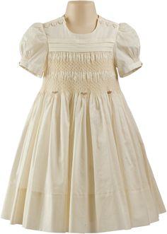 heirloom smocked dresses | Elaine - Handmade Heirloom Dress - Heritage Fine Crafts