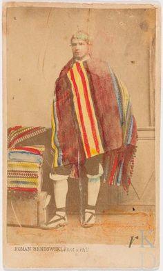 Roman Béndowski Pau (Pyrenées-Atlantiques) Portret van een man  Den Haag, RKD (collectie Iconografisch Bureau)
