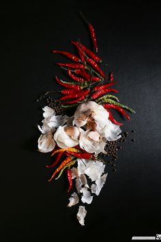 Garlic and Chili | Food Photography | Food Styling | Grace Anne Vergara