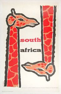 1955 South Africa poster by Neizen