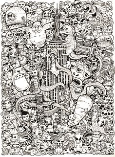 More Doodle Drawings By Kerby Rosanes