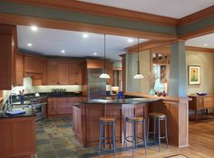 Craftsman Kitchen Mission Style Kitchens And Craftsman Style Kitchens