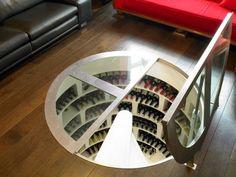 Creative Wine Cellar Spiral Systems!