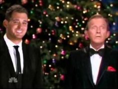 Michael Buble' & Bing Crosby - White Christmas... Love them both!!