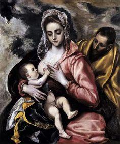 El Greco , Holy Family