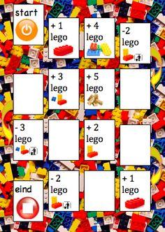 Lego ganzenbord